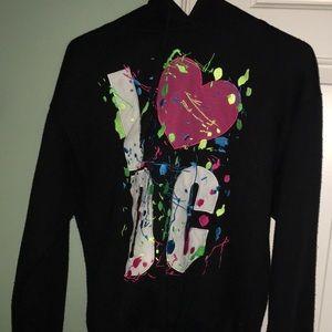 Tops - I💚DC hoodie